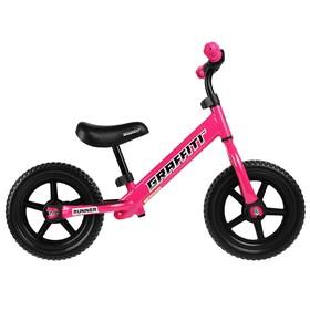 Беговел 12' GRAFFITI Runner, цвет розовый Ош
