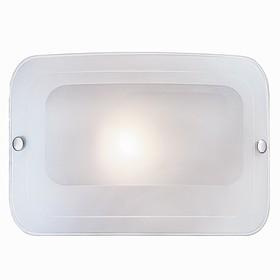 Светильник TIVU 1x60Вт E27 хром, прозрачный