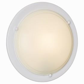Светильник RIGA 2x100Вт E27 белый, прозрачный