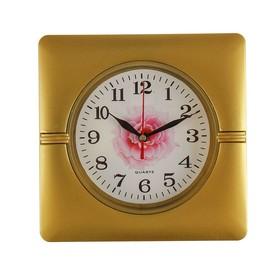 Часы настенные, серия: Классика, 'Пелагея', 19х19 см, цвета и фрукты микс Ош