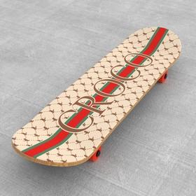Шкурка для скейта «Croco» Ош