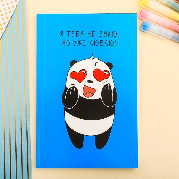 Ежедневник в точку Любвеобильная Панда