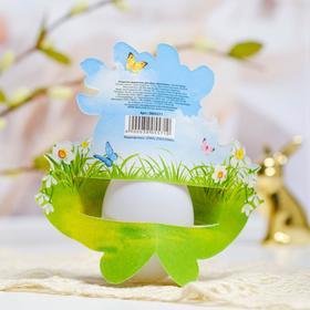 Пасхальная открытка-держатель на 1 яйцо «Цыплёнок»