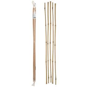 Колышек для подвязки растений, h = 90 см, d = 0.8 - 1 см, набор 5 шт., бамбук