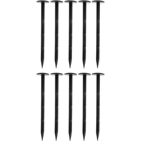 Гвоздь крепёжный для фиксации укрывного материала, h = 20 см, набор 10 шт., пластик Ош