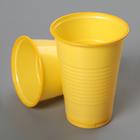 Стакан «Стандарт», 200 мл, цвет жёлтый