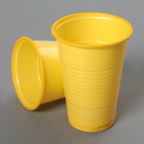 Стакан «Стандарт», 200 мл, цвет жёлтый Ош
