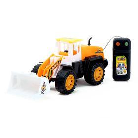 Трактор «Строитель», на дистанционном управлении, работает от батареек, МИКС Ош