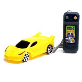 Машина «Спорткар», на дистанционном управлении, работает от батареек, цвета МИКС Ош