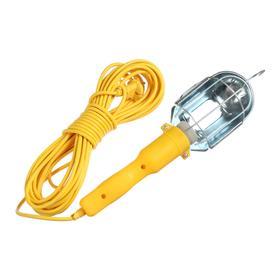 Светильник переносной TUNDRA с выключателем под лампу E27, 15 метров, желтый Ош