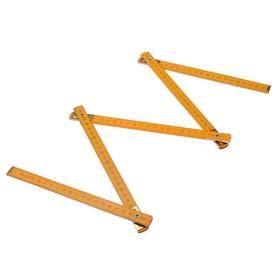 Метр складной TUNDRA, деревянный, 1 м Ош
