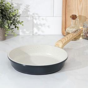 Сковорода Доляна «Армин», d=24 см, ручка soft-touch, индукция