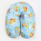 Подушка для беременных, 23х185 см, бязь, чехол на молнии, ППС, цвет голубой МИКС