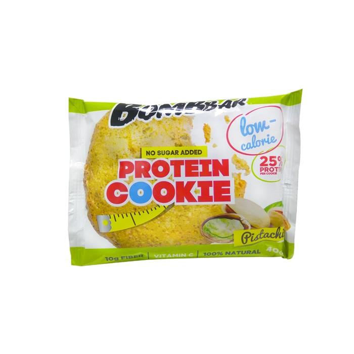 Протеиновое печенье BOMBBAR, фисташка, 40 г