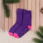 Носки детские Collorista, размер 18 (3-4 года), цвет фиолетовый/розовый