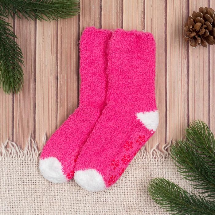 Носки детские Collorista, размер 16 (2-3 года), цвет розовый/белый