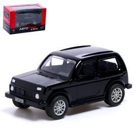Машина металлическая «4x4», инерция, МИКС