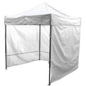 Палатка торговая 3*3, каркас складной чёрный, с молнией, цвет белый Ош