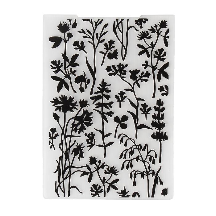 """Папка для тиснения """"Ботаника"""" 10,5х14,5 см"""
