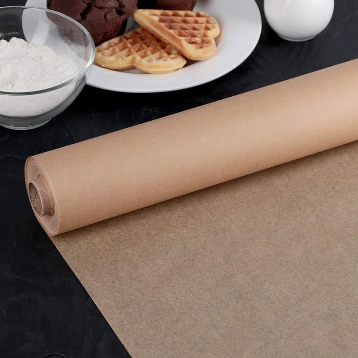 Бумага для выпечки, профессиональная 38 см х 50 м Nordic EB Golden, силиконизированная