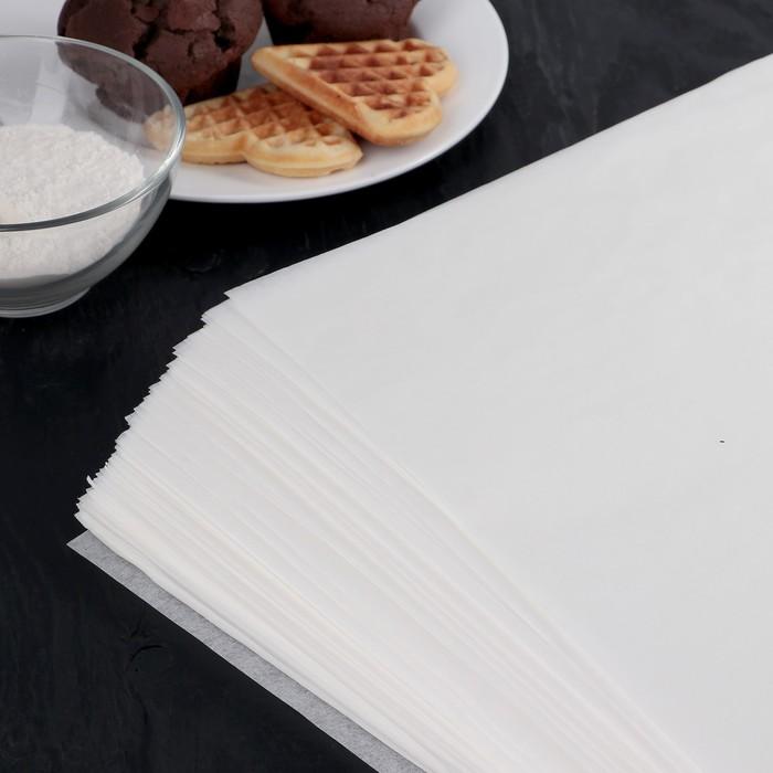 Бумага для выпечки, профессиональная 38 х 42 cм Nordic EB Golden, 500 листов, силиконизированная