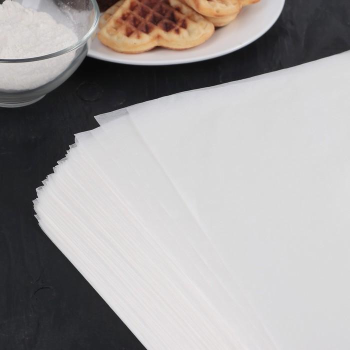 Бумага для выпечки, профессиональная 60х80 см Nordic EB, 500 листов, силиконизированная