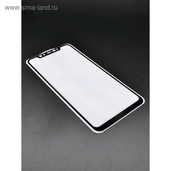Защитное стекло 2D Innovation для Xiaomi Mi 8, полный клей, черное