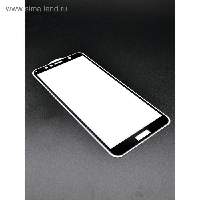 Защитное стекло Innovation 2D для Huawei Y6 (2018)/7A Pro/7C , полный клей, черное