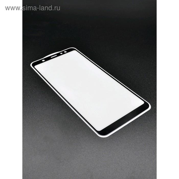 Защитное стекло 2D Innovation для Samsung A6 Plus, полный клей, черное