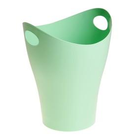Корзина для бумаг 8 литров Pastel, зелёная