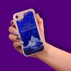 Чехол для телефона iPhone 7 с блёстками внутри «Сияние», 6.5 ? 14 см
