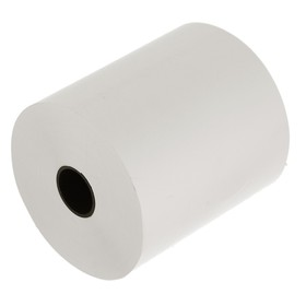 Чековая лента термо 80мм 74м 80х18х74, диаметр ролика 76 мм, чёрный оттиск