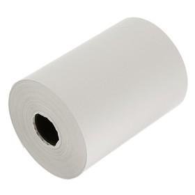 Чековая лента термо 80мм 50м 80х18х50, диаметр ролика 62 мм, чёрный оттиск