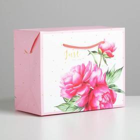 Пакет—коробка Just for you, 23 × 18 × 11 см Ош