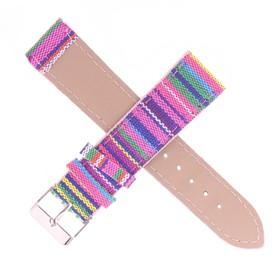 Ремешок для часов, текстиль, 22мм, цветной 20см Ош