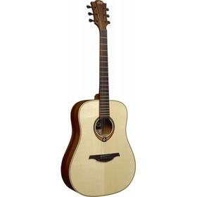 Акустическая гитара LAG T88D Дредноут, цвет натуральный