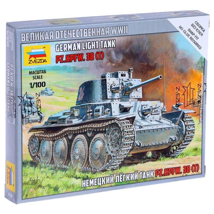 """Сборная модель """"Немецкий танк Т-38"""""""