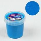 Слайм в ведёрке голубой ароматизированный, 150 мл - Фото 1
