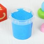 Слайм в ведёрке голубой ароматизированный, 150 мл - Фото 2