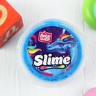 Слайм в ведёрке голубой ароматизированный, 150 мл - Фото 3