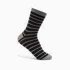 Носки детские, цвет чёрный, р-р 18-20