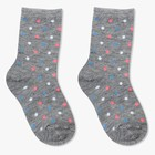 Носки детские Ft-639-L-12 цвет серый, р-р 18-20