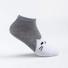 Носки детские Ft-551-M-12+2 цвет серый, р-р 20-22