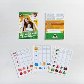 Настольная развивающая игра «Логические таблицы» Ош