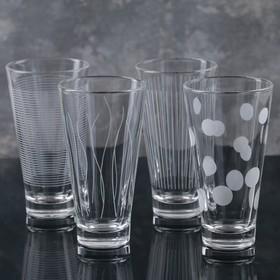 Набор стаканов Luminarc «Лаунж клаб», 350 мл, 4 шт