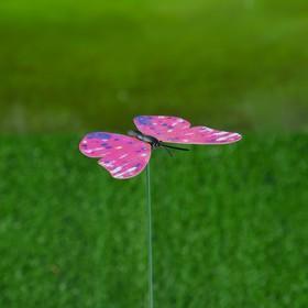 Штекер декоративный для комнатных растений 'Бабочка' 5х7см, 30см Ош