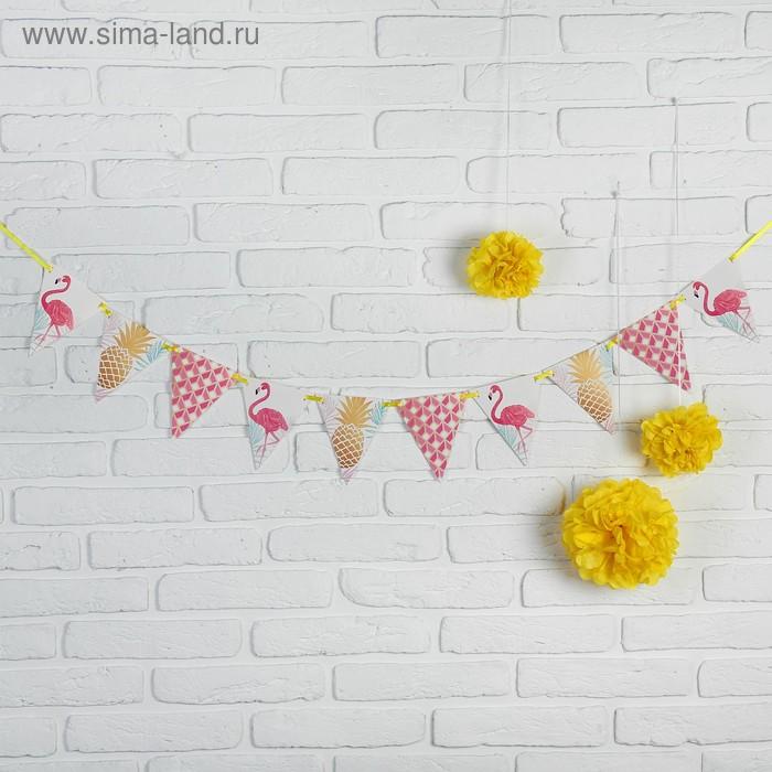 "Набор для оформления праздника ""Фламинго"""