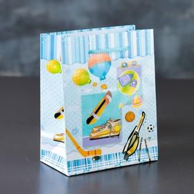 Пакет ламинированный «Детство», 12 х 15 х 5 см Ош