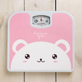 Весы напольные «Хорошего дня», механические, до 130 кг Ош