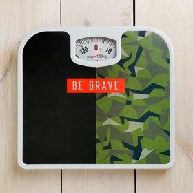 Весы напольные 'Be brave', механические, до 130 кг Ош